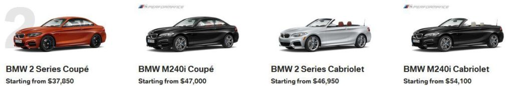 BMW 2 Series Calgary