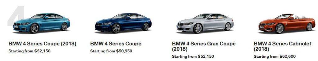 BMW 4 Series Calgary