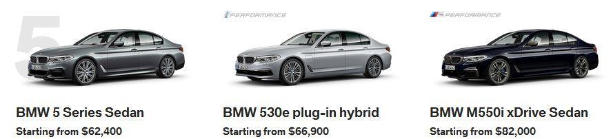 BMW 5 Series Calgary