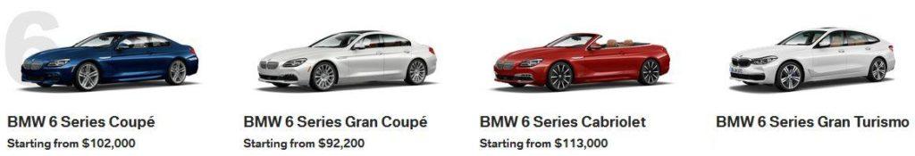 BMW 6 Series Calgary