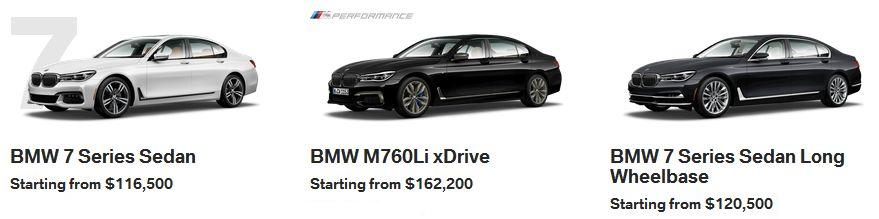 BMW 7 Series Calgary
