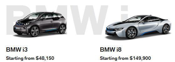 BMW i3 i8 Calgary