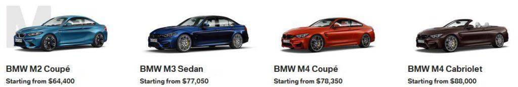 BMW M2 M3 M4 Calgary