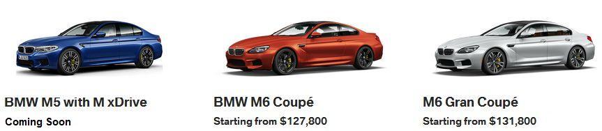 BMW M5 M6 Calgary