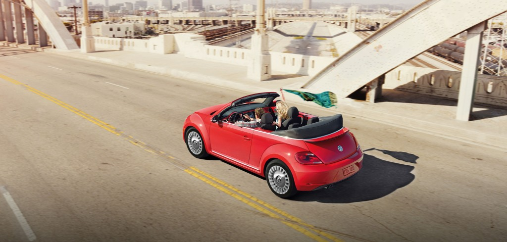 Beetle Convertible Red