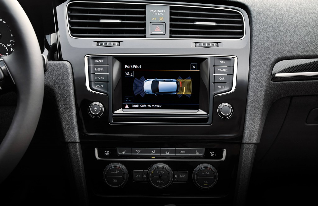 Touch Screen Infotainment