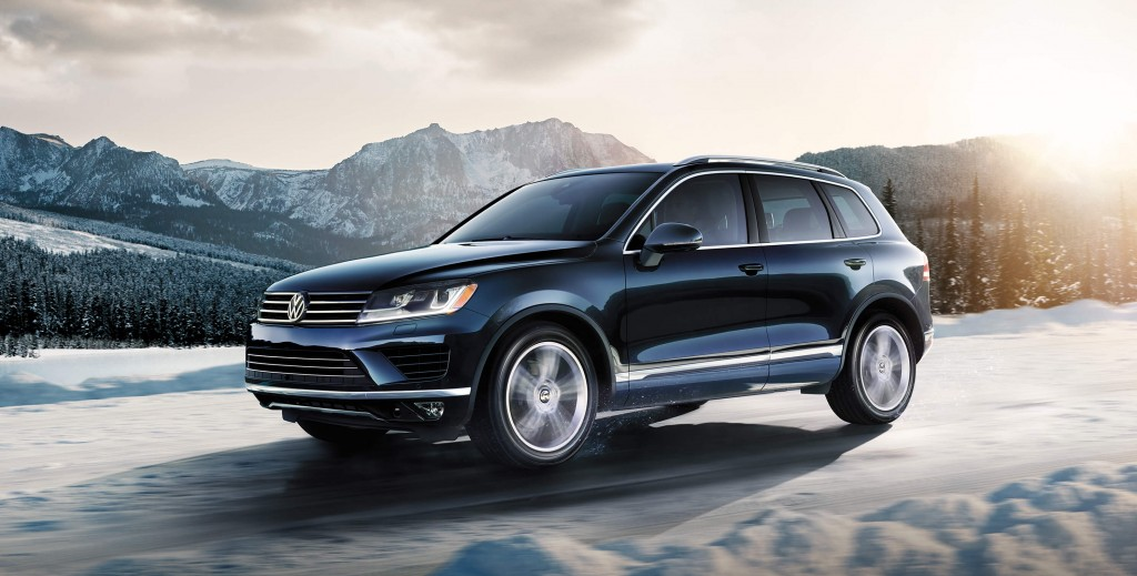 Black 2015 Volkswagen Touareg