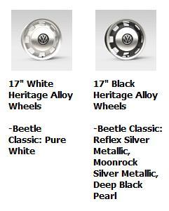 2016 Beetle Classic Wheels