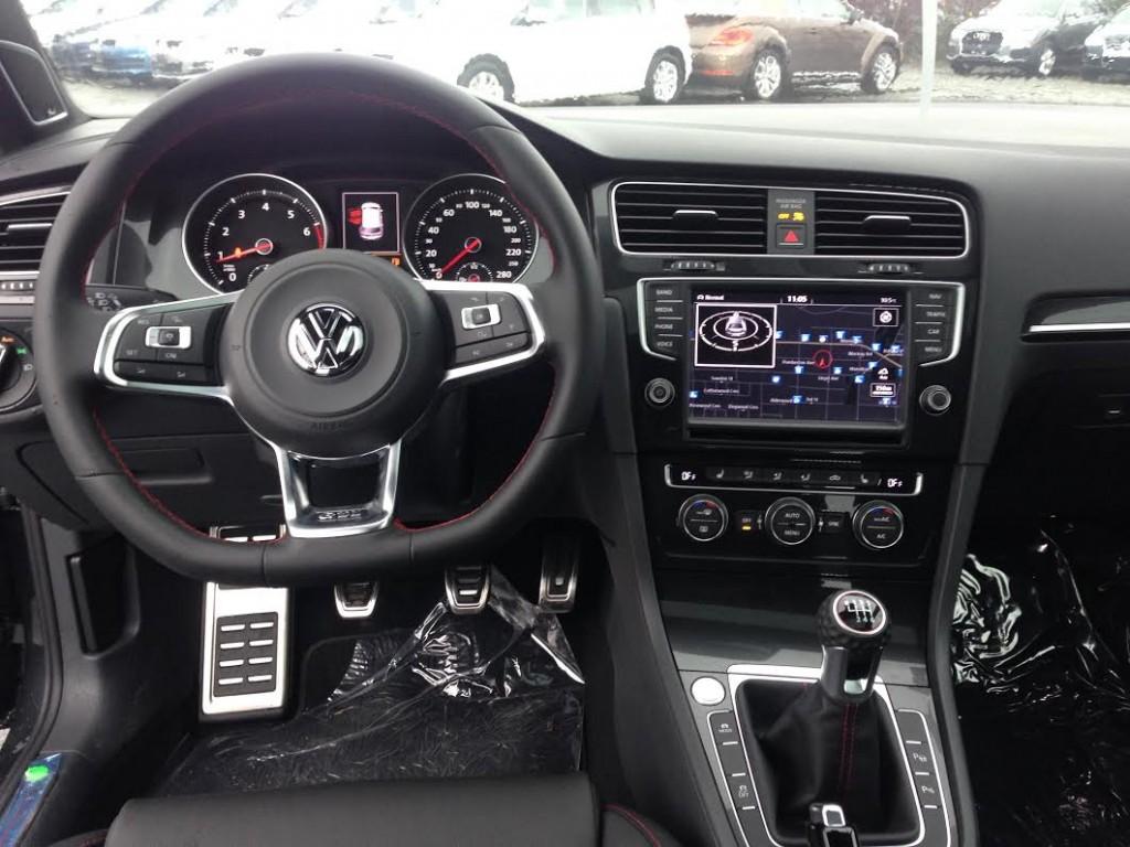 2016 GTI Dash