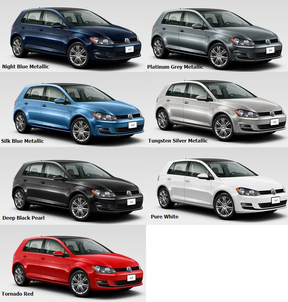 2016 Golf Colours
