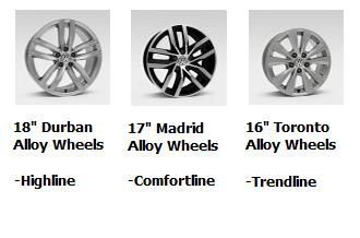 2016 Golf Wagon Wheels