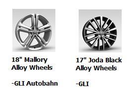 2016 Jetta GLI Wheels