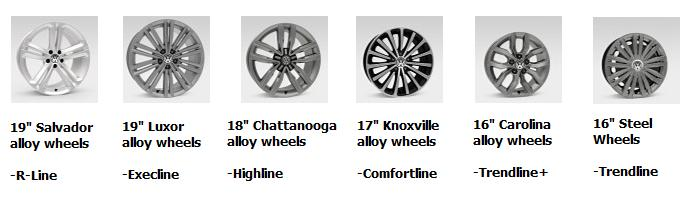 2016 Passat Wheels