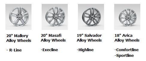 2016 Touareg Wheels