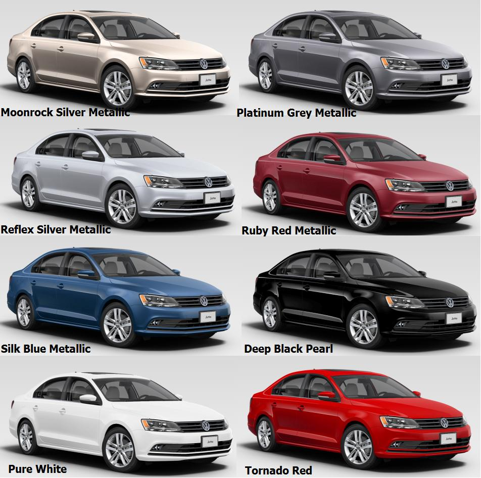 2016 Jetta Car Colours