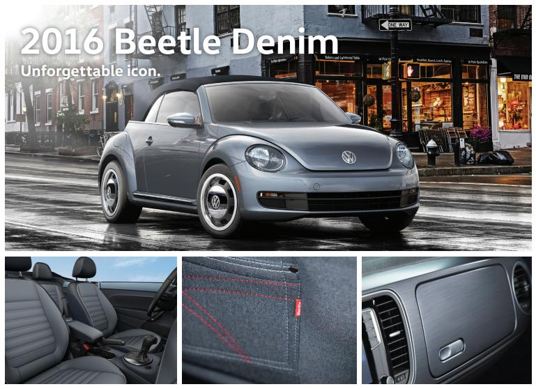 2016 Beetle Convertible Denim Edition