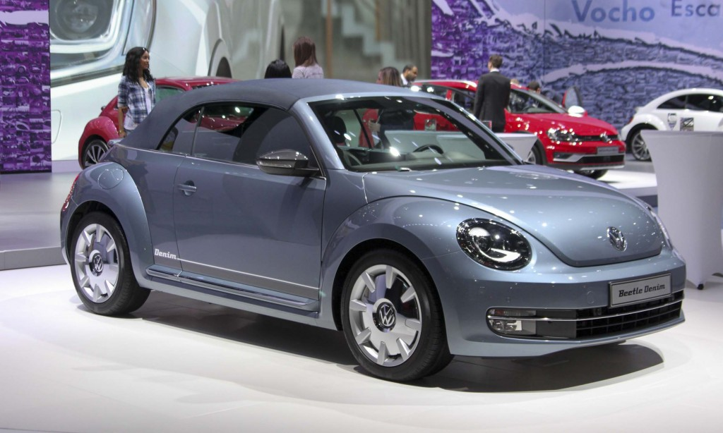 Limited Denim Edition 2016 VW Beetle Convertible