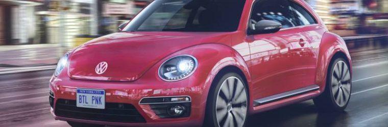2017 Vw Beetle Pink Edition