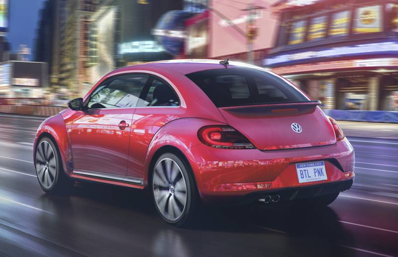 2017 Pink Beetle Coupe