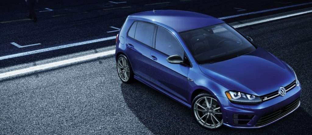 2017 Golf R Lapiz Blue