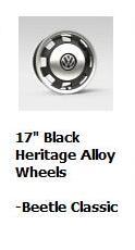 2017 Beetle Classic Wheels