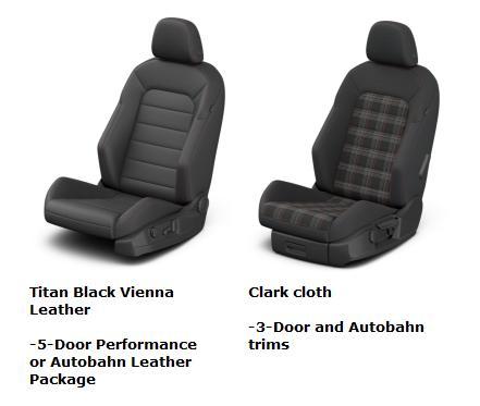 2017 GTI Seats